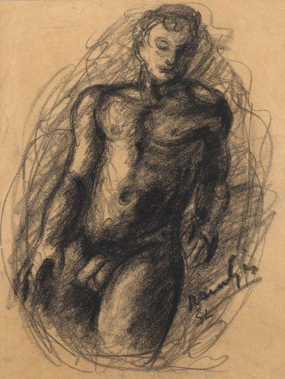 Johannes Meintjes; Nude Study