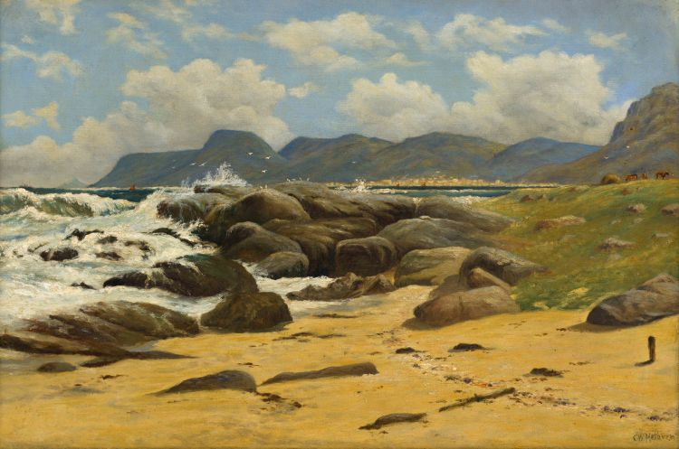 Cathcart William Methven; Simon's Town from Kalk Bay