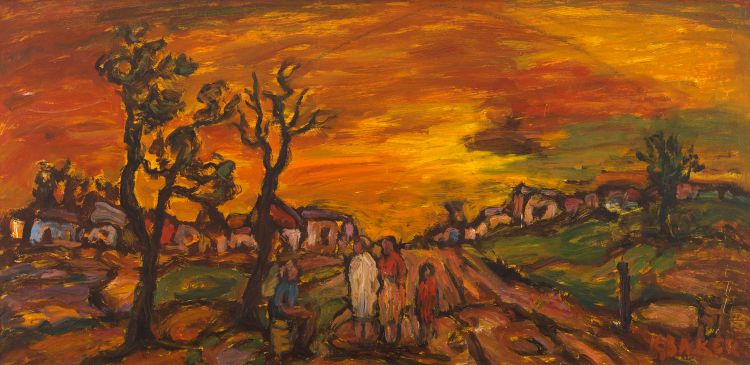 Kenneth Baker; Country Sunset