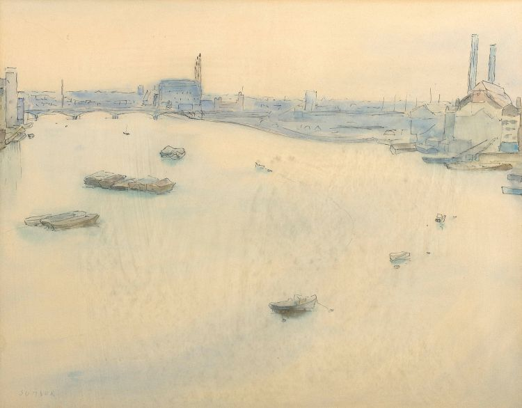 Maud Sumner; Thames View