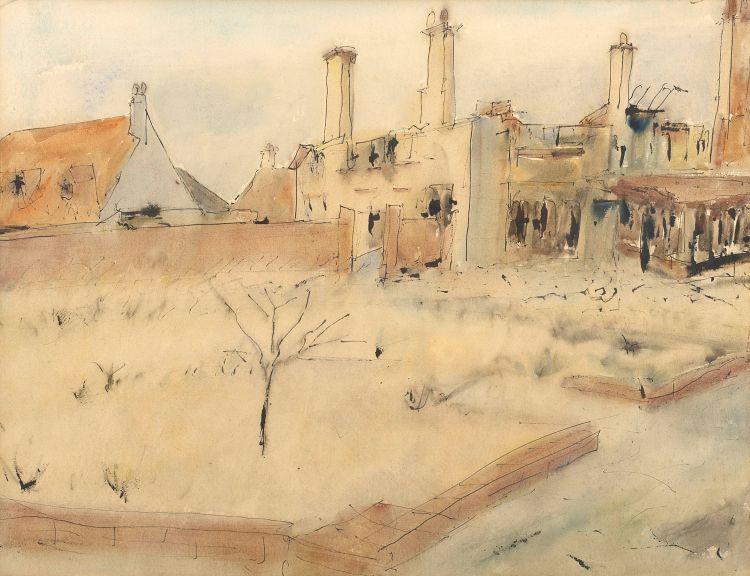 Maud Sumner; War Damage