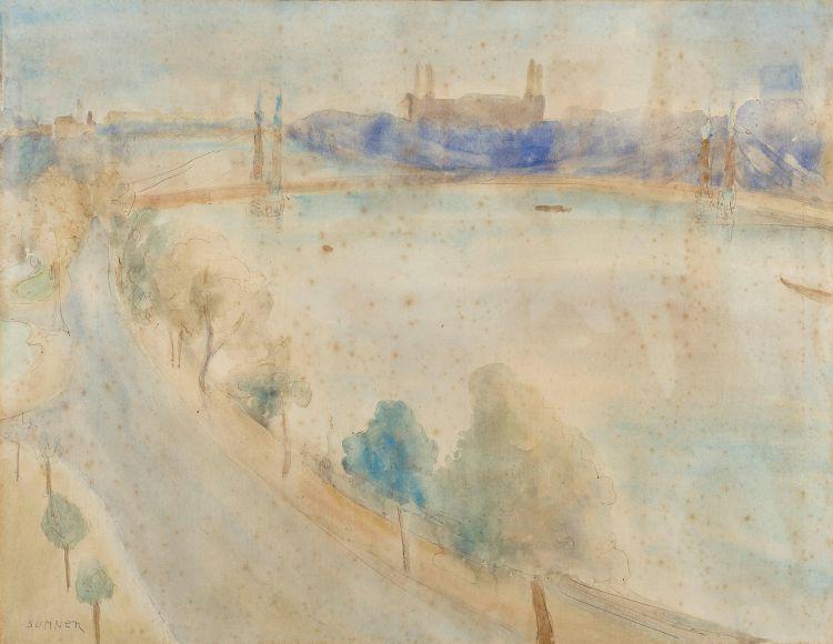 Maud Sumner; Albert Bridge
