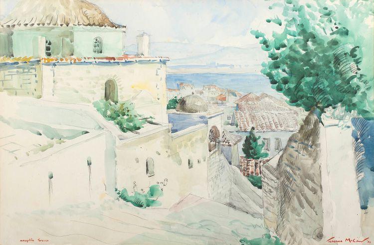 Terence McCaw; Nauplia, Greece