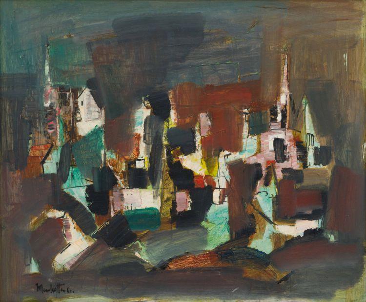 Dirk Meerkotter; Abstract Cityscape