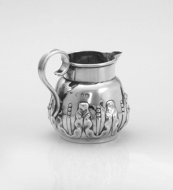 A Victorian silver milk jug, probably Holland, Son & Slater, London, 1890