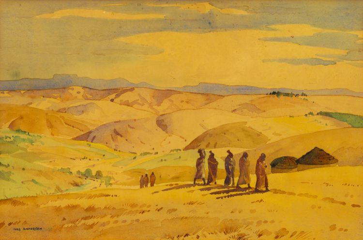 Nils Andersen; Zululand Scene