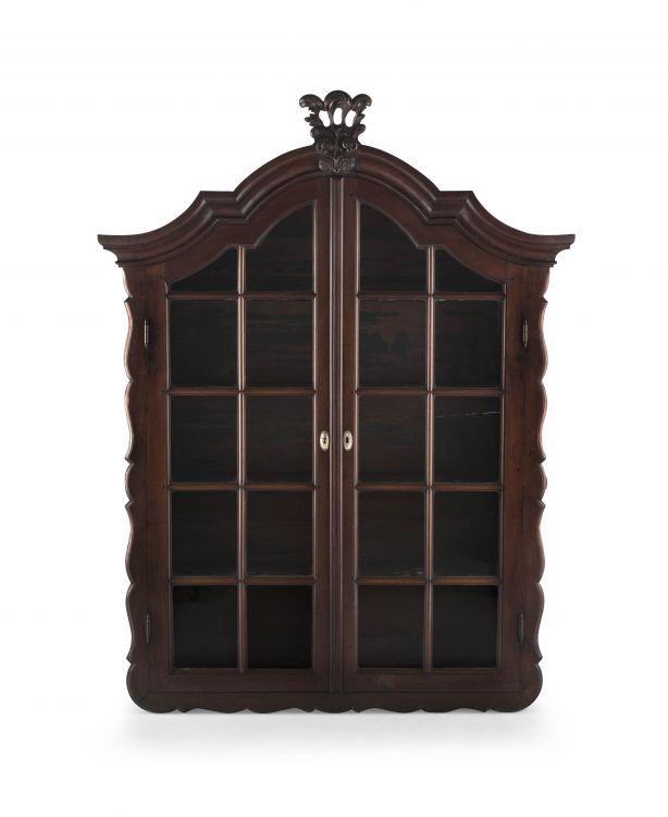A Cape teak wall cupboard, 18th century