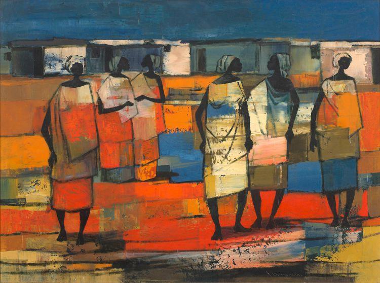 Jan Dingemans; Congolese Women