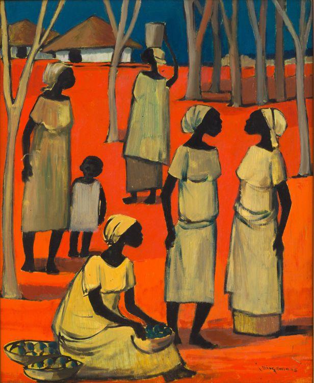 Jan Dingemans; Congolese Figures