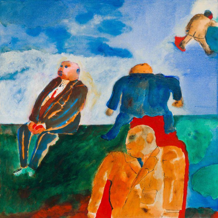 Robert Hodgins; Four Business Men