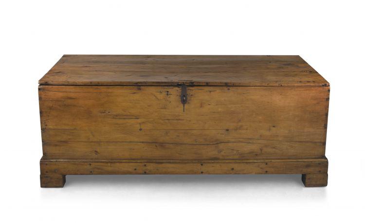 Cape yellowwood storage chest, 19th century