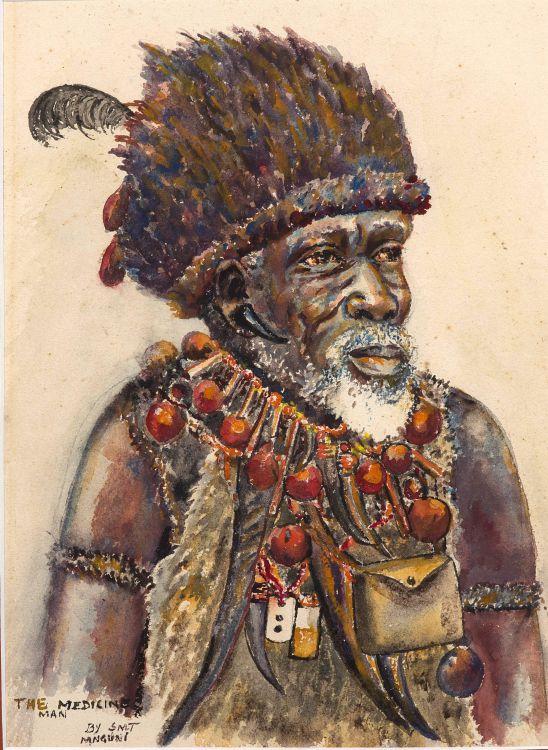 Simoni Mnguni; The Medicine Man