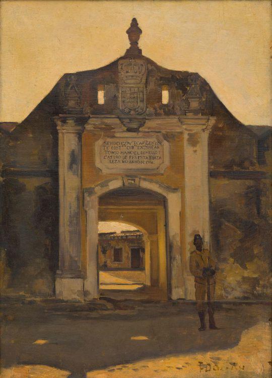 Frans Oerder; Fort Ibo, East Africa