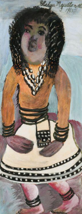 Gladys Mgudlandlu; Woman in Traditional Dress