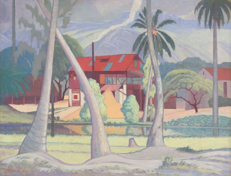 Jacob Hendrik Pierneef; Cinnamon Mill, Seychelles
