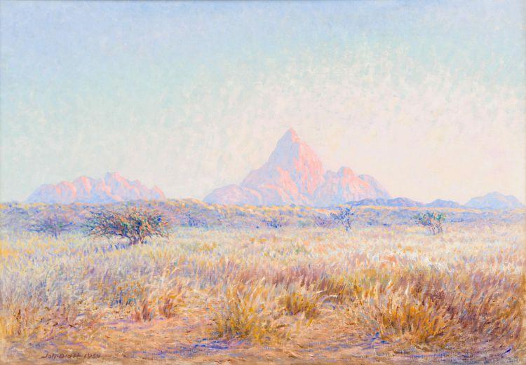 Johannes Blatt; Gross Spitzkoppie Nordseite: Namib – Aristida Gras Breite, SWA