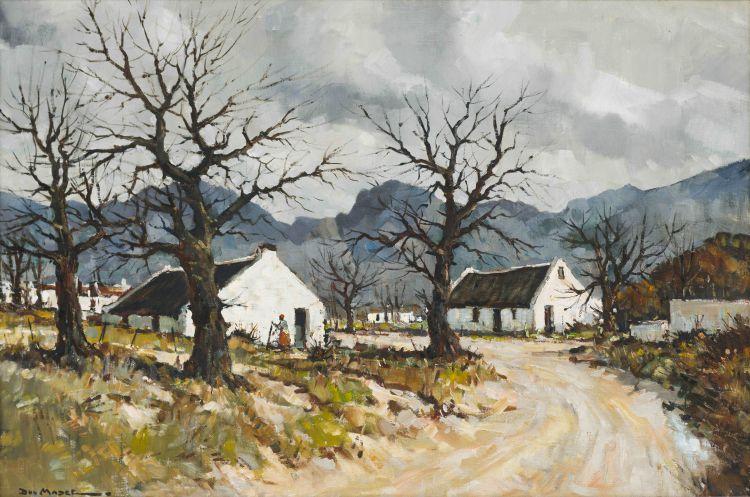 Don (Donald James) Madge; Cape Village