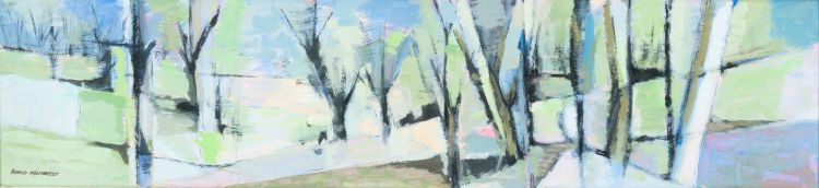 Ronald Mylchreest; Landscape with Trees