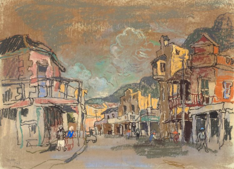 Gregoire Boonzaier; Caledon Street, District Six