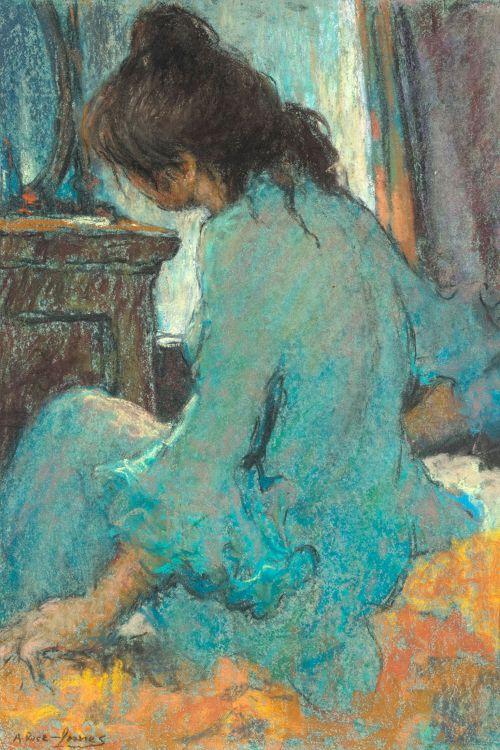 Alexander Rose-Innes; Seated Girl