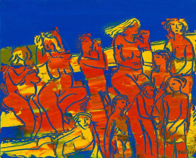 Walter Battiss; Sunbathers