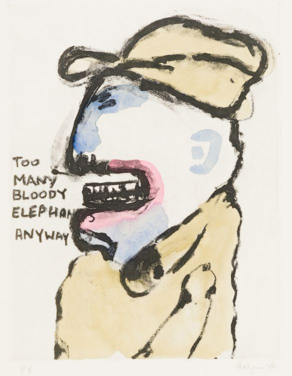 Robert Hodgins; Too Many Elephants