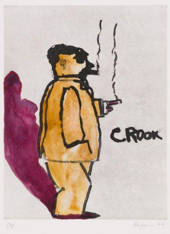 Robert Hodgins; Crook