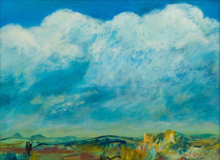 Fred Schimmel; Abstract Landscape