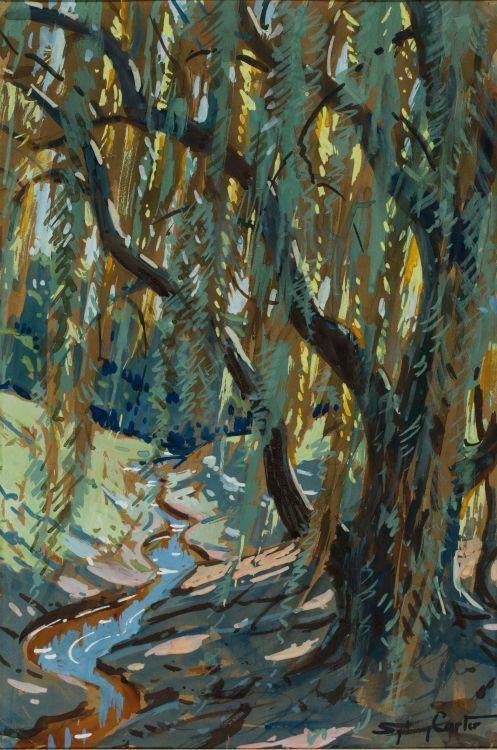 Sydney Carter; Riverside Willow
