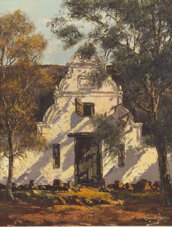 Tinus de Jongh; Cape Dutch Homestead
