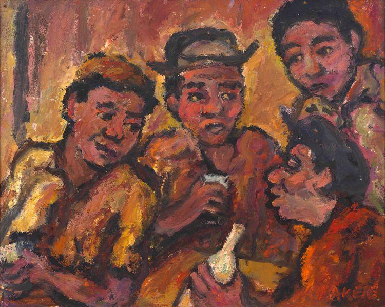 Kenneth Baker; Men at the Bar