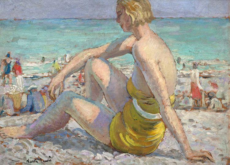 Alfred Neville Lewis; Sunbather