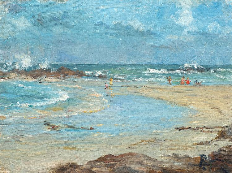 Ruth Prowse; Bloubergstrand
