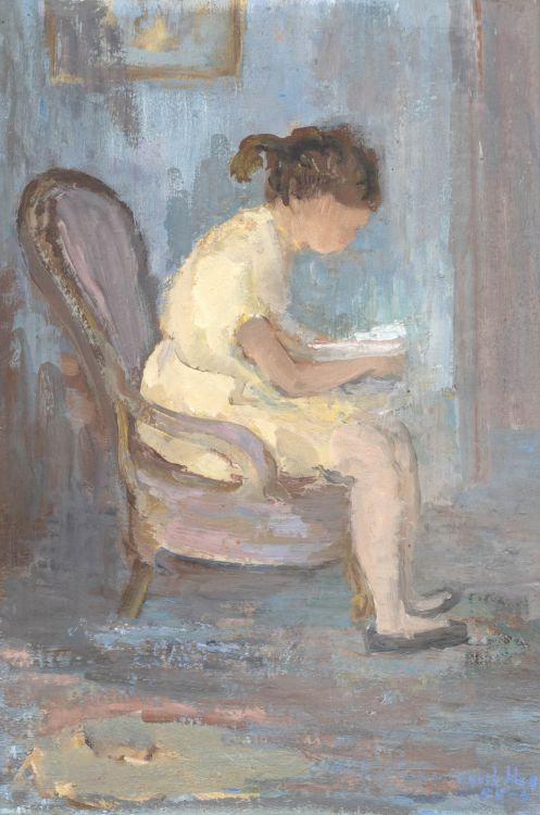 Cecil Higgs; Girl Reading