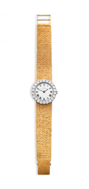 Lady's diamond and gold Bucherer wristwatch