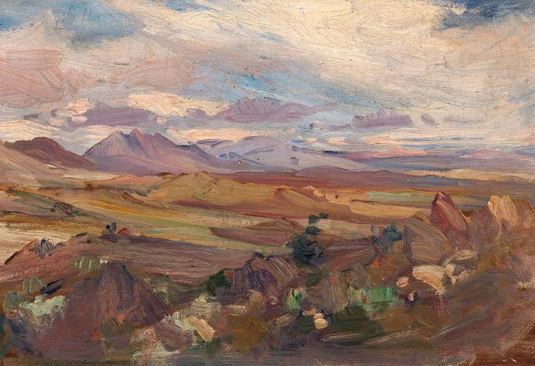 Hugo Naudé; Mountains near Worcester