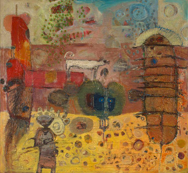 Hussein Salim; Untitled