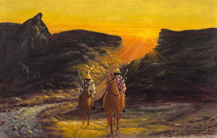 John Koenakeefe Mohl; 'The Twilights of Dawn' in Lesotho near Sunnypass