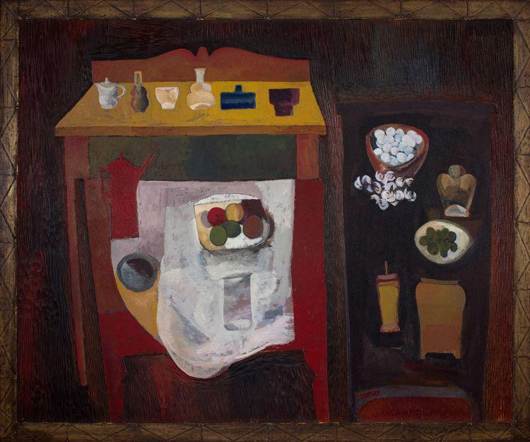 Cecil Skotnes; Kitchen Still Life