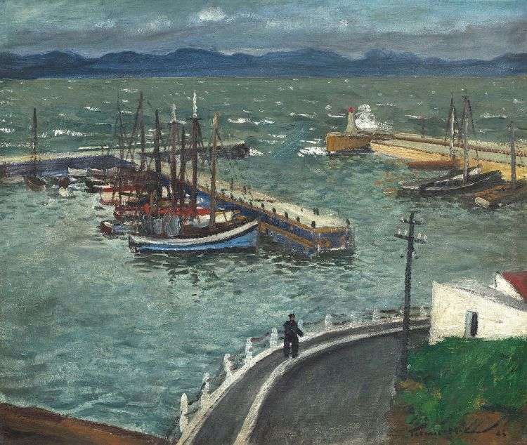 Terence McCaw; Boats in Kalk Bay