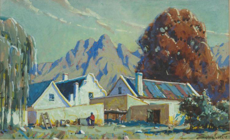Sydney Carter; Farm Buildings, Cape