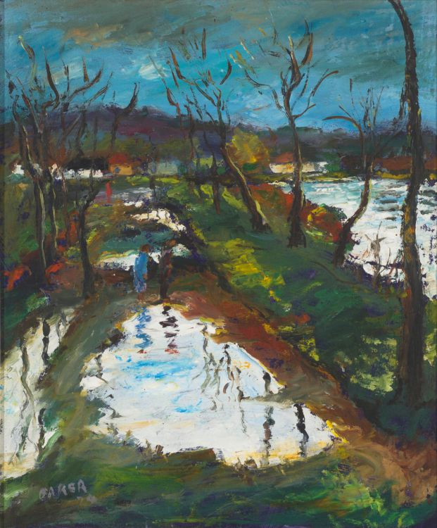 Kenneth Baker; Figures on a Waterway