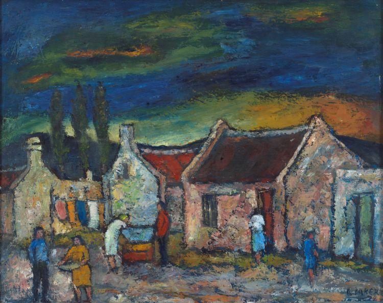 Kenneth Baker; Figures and Cottages