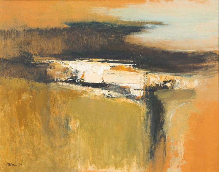 Wim Blom; Abstract Landscape