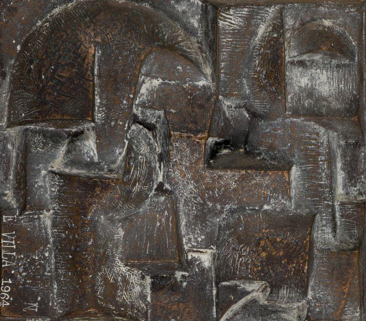 Edoardo Villa; Abstract Plaque