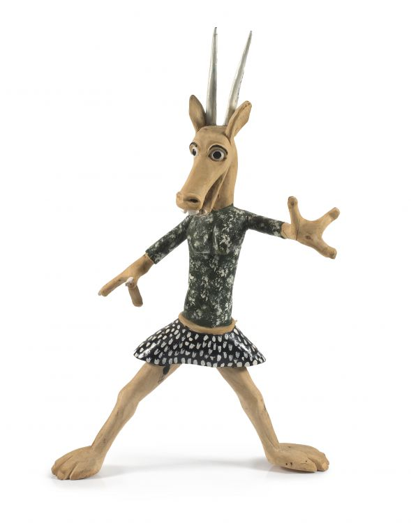 Phillip Rikhotso; Antelope in a Skirt