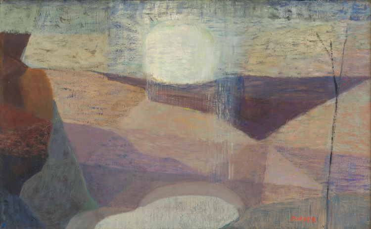 Maud Sumner; Abstract Sunset