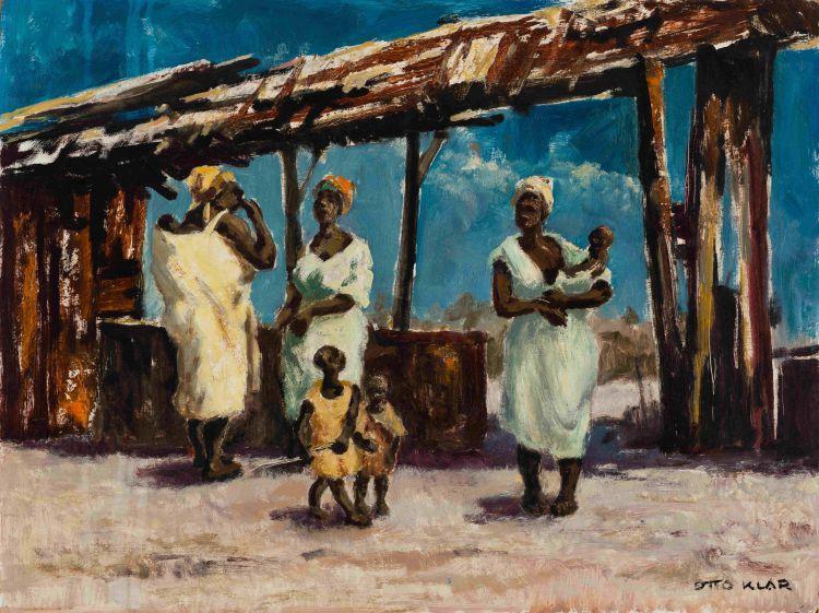 Otto Klar; Women and Children