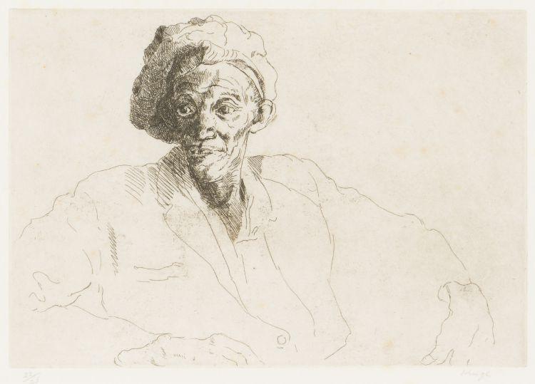 François Krige; Portrait of a Woman