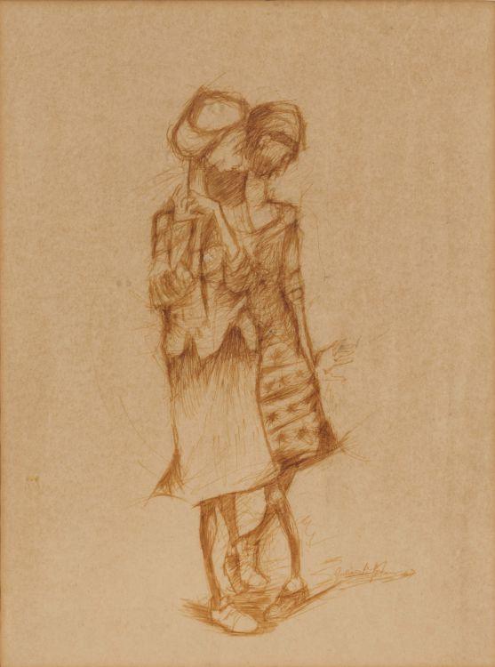 Julian Motau; Two Women